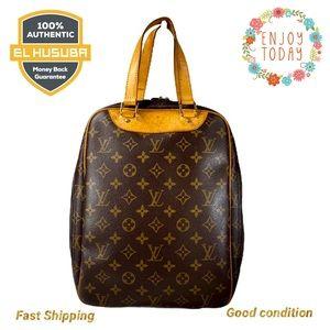 🌻💯Louis Vuitton satchel Hand Bag Excursion brown